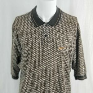 Nike Golf Men's Large Mickey Mouse Collared Polo